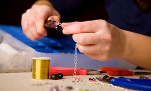 Eleven Eleven Jewelry: BYOB Jewelry-Making Workshop for One, Two, or Four at Eleven Eleven Jewelry (Up to 52% Off)
