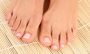 Laser Toenail-fungus Removal For One Or Both Feet At Eby Foot Care (up To 53% Off)