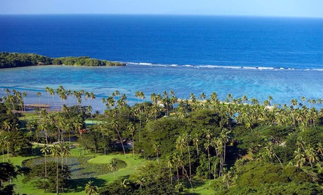 Fijian Resort with Private Beach & Dive School