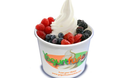 $15 for Five Groupons, Each Good for $6 Worth of Frozen Yogurt at Yogurtfusion ($30 Value)
