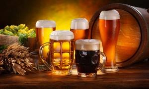 Santi & Peccatori: Degustazione di birra con piadina e stuzzicherie varie per 2, 4 o 6 persone da Santi & Peccatori (sconto fino a 69%)