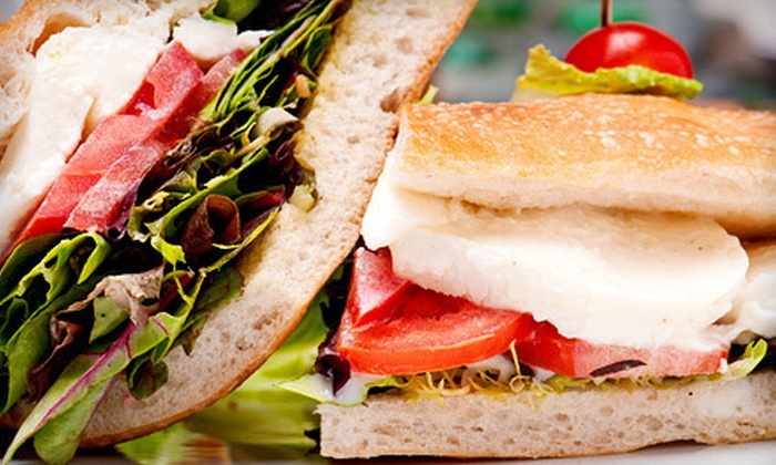 Ciabatta - Wyomissing: 5 or 10 Gourmet Sandwiches at Ciabatta (Up to 54% Off)