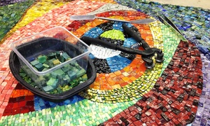 The Chicago Mosaic School: Up to 56% Off BYOB Mosaic Jewelry or Basics Workshop for One or Two at The Chicago Mosaic School