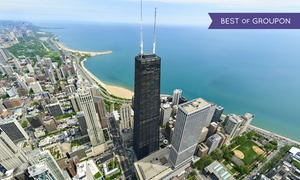 360 CHICAGO, Formerly John Hancock Observatory: Sun and Stars Admission for One, Two, or Four Adults at 360 CHICAGO (25% Off)