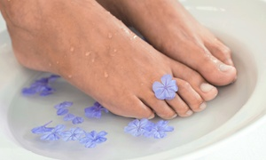 Lasertique Spa: Two, Three, or Four Laser Toenail-Fungus-Removal Sessions for Both Feet at Lasertique Spa (Up to 78% Off)