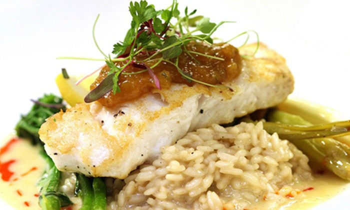 Social 242 Lounge & Grill - Kelowna: Dinner for Two or Four at Social 242 Lounge and Grill (Up to 54% Off)