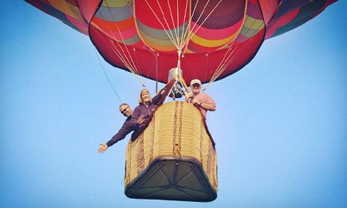 Asheville Hot Air Balloons - Asheville: $125 for a One-Hour Sunrise Hot Air Balloon Ride from Asheville Hot Air Balloons ($235 Value)