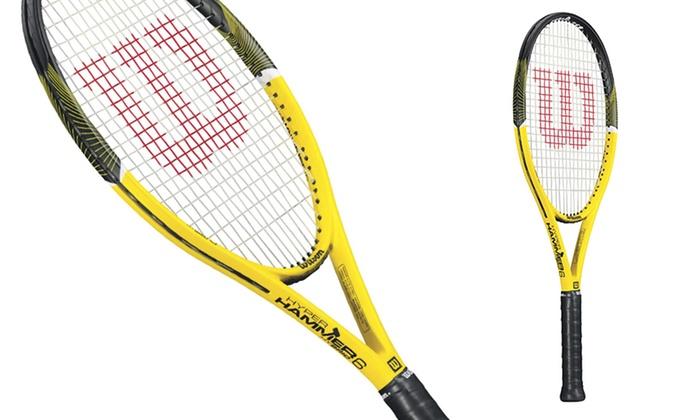 Hyper Hammer 6 Tennis Racket | Groupon Goods