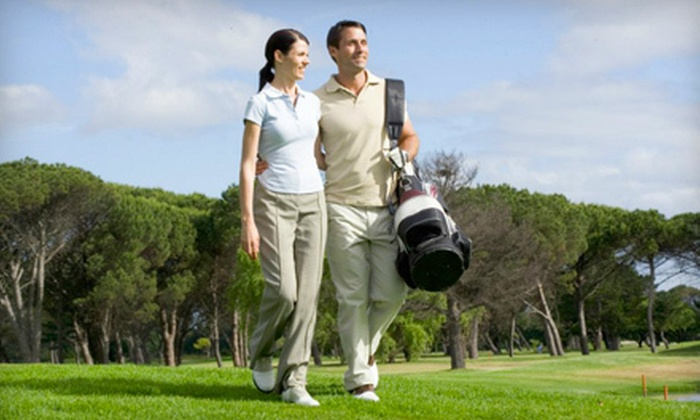 Emerald Pines Golf Club - Port Colborne: 18-Hole Golf Outing and Bucket of Range Balls for Two or Four at Emerald Pines Golf Course in Port Colborne (Up to 64% Off)