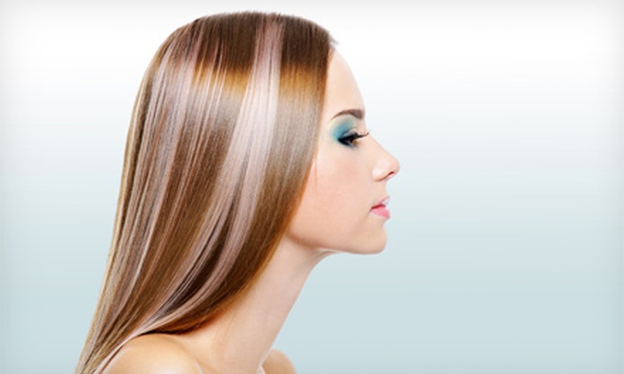 Thompson Hair Studio - Back of the Yards: One or Two Brazilian Blowouts at Thompson Hair Studio (Up to 66% Off)
