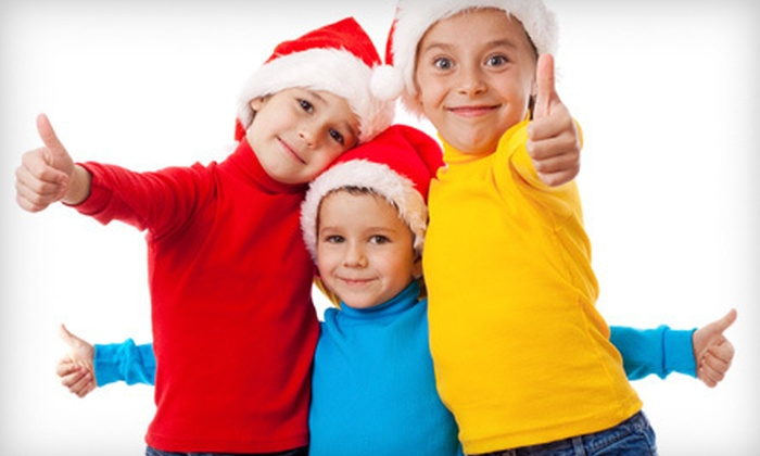 NUF House - Vaughan: Christmas Event for One or Two Kids at Nuf House (Up to 69% Off)