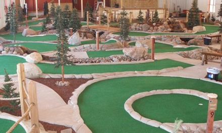 Mini Golf and Drinks for Two, Four, Six, or Eight at GolfZone (Up to 54% Off)
