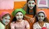 Mei Salon - Rutherford: Basic or Deluxe Spa Party with Mani-Pedis and Henna Tattoos for Up to Four Kids at Mei Salon (Up to 54% Off)