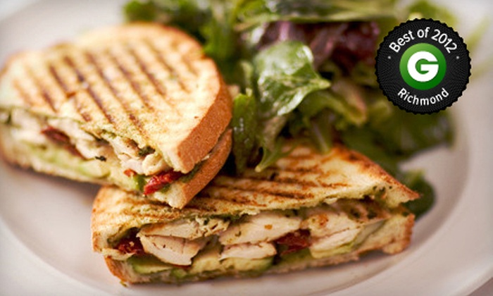 Baker's Crust - Multiple Locations: American Food at Baker's Crust (Up to 53% Off). Two Options Available
