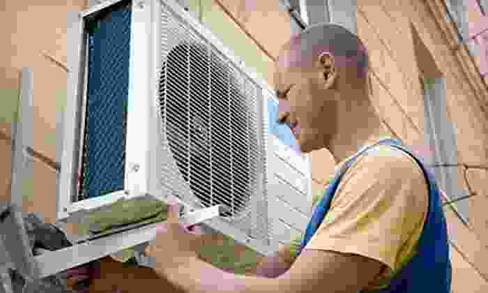 Brasch Heating and Cooling - Downtown: Air-Conditioner or Furnace Tune-Up or Annual Tune-Up Package from Brasch Heating and Cooling (Up to 66% Off)