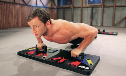 Power Press Complete Pushup Training System