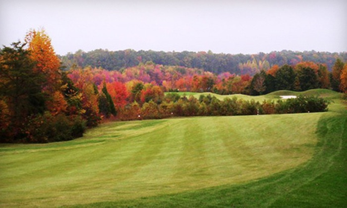 The Gauntlet Golf Club - Hartwood Manor: 18-Hole Round of Golf for Two or Four Including Range Balls at The Gauntlet Golf Club in Fredericksburg (Up to 54% Off)