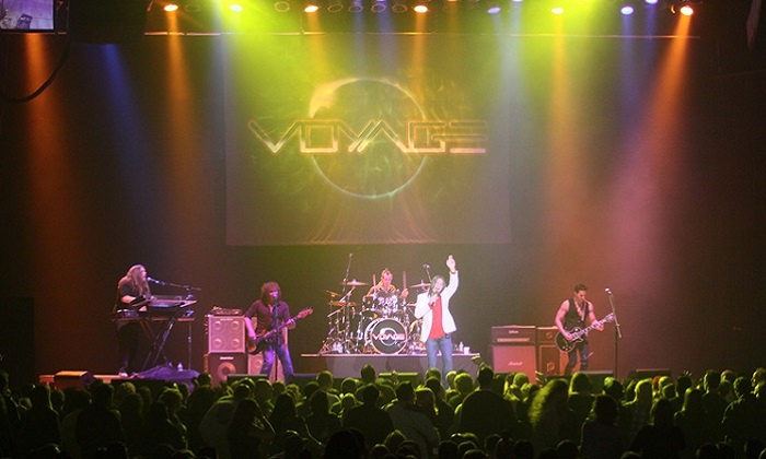 Voyage, Wild Child, or The Rising - The Paramount Theatre - Huntington: The Paramount Tribute Series Presents Voyage, Wild Child & The Rising (Up to 45% Off)