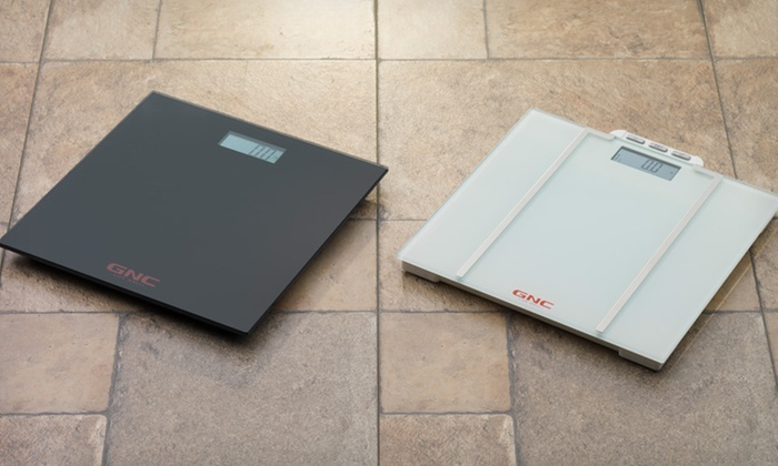 GNC Digital Scales: GNC Digital Talking Scale or Digital Weight and BMI Scale in Black or White (Up to 53% Off). Free Shipping and Returns.