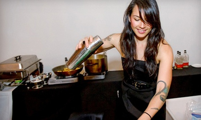 Silver Lining Cocktail Making - Flatiron District: $75 for a Summer Cocktail-Making Class and Bar Bites from Silver Lining, Benefiting City Harvest ($125 Value)