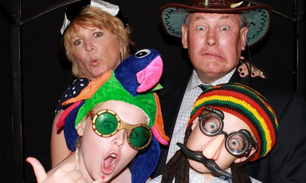 Two- or Four-Hour Photo Booth Rental from The Picture Booth (Up to 58% Off)