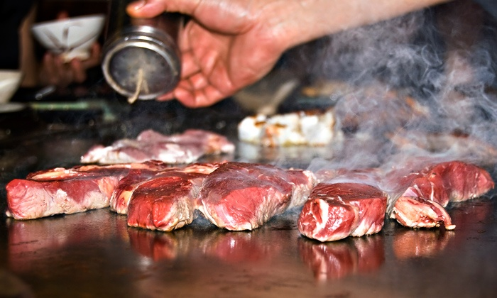 Saga Hibachi Steakhouse & Sushi Bar - Saga Hibachi Steakhouse & Sushi Bar : $12.50 for $25 Worth of Japanese Steak-House Cuisine for Dinner at Saga Hibachi Steakhouse & Sushi Bar