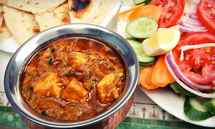 The Curry Club - Hicksville: Indian Dinner Fare and Drinks at The Curry Club in Hicksville (Up to 52% Off). Two Options Available.