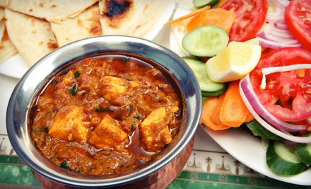 $30 Dinner Groupon - The Curry Club in Hicksville