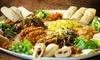 Restaurant Asmara - Nürnberg: Keren-Mix-Platte mit Spezialitäten aus Eritrea für Zwei im Restaurant Asmara ab 9,70 € (bis zu 52% sparen*)