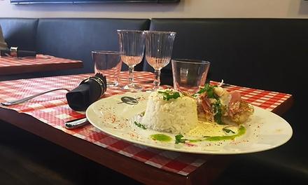 entr e plat et dessert la carte pour 2 personnes restaurant le bistrot du baron toulouse. Black Bedroom Furniture Sets. Home Design Ideas