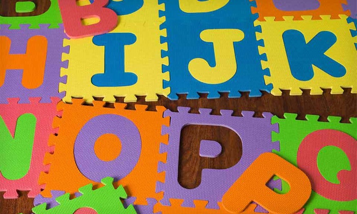 Mota Alphabet Play Mat: $25 for an Alphabet Play Mat ($90 List Price). Free Shipping.