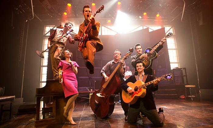 """Million Dollar Quartet - Miller Auditorium: """"Million Dollar Quartet"""" at Miller Auditorium on March 18 or 19 at 7:30 p.m. (Up to 40% Off)"""