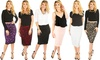 Lyss Loo Lace In Line Midi Pencil Skirt: Lyss Loo Lace In Line Midi Pencil Skirt