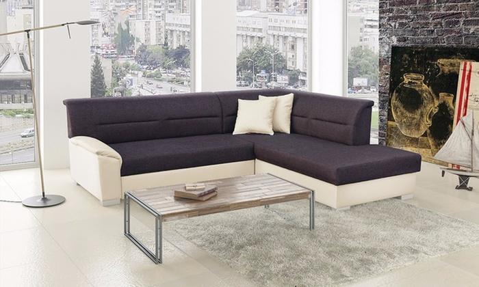 canap convertible lit sinus groupon. Black Bedroom Furniture Sets. Home Design Ideas