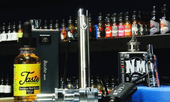 Cloud Vapor Lounge - Bucktown: Full Kits and Build-Your-Own Starter Kits or Juices at Cloud Vapor Lounge (Up to 45% Off)