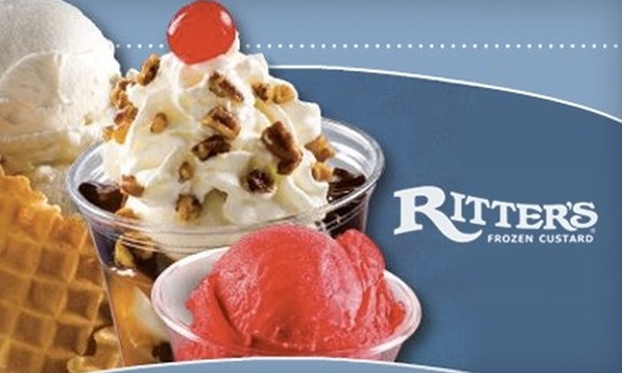 Ritter's Frozen Custard - Portage: $10 for $20 Worth of Frozen Treats at Ritter's Frozen Custard