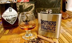 The Brothers Vilgalys Spirits Company: Distillery-Tour Package for One or Two at The Brothers Vilgalys Spirits Company (59% Off)