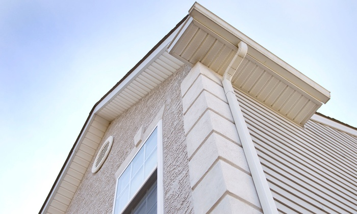 At Eaves & Roof Services - Toronto (GTA): C$69 for Complete Exterior Window and Gutter Cleaning from At Eaves & Roof Services (C$189 Value)