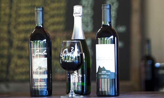 Malibu & Vine Outdoor Wine Bar - Agoura Hills-Malibu: Tasting for Two with a Take-Home Bottle of Saddlerock or Semler Wine at Malibu & Vine Outdoor Wine Bar (Up to 52% Off)