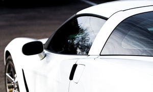 Lynx Customs: 3M Window Tinting on Two or Five Car Windows or a Clear Car Bra at Lynx Customs (Up to 58% Off)