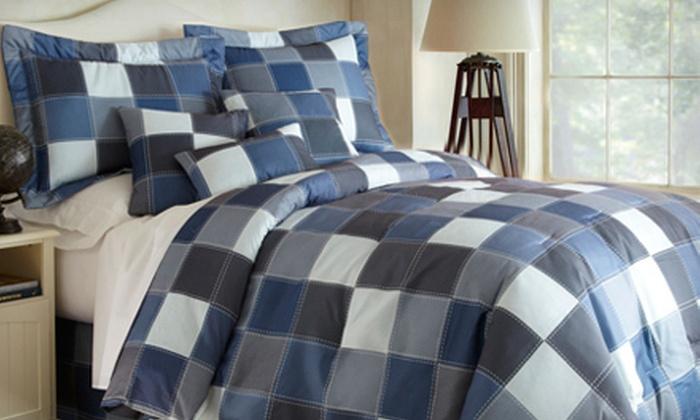 Denim Revolution Comforter Set: Denim Revolution Microfiber Comforter Set (Up to 71% Off). Multiple Sizes and Colors Available.
