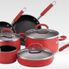 $119.99 for a Rachael Ray Porcelain 10-Piece Nonstick Cookware Set