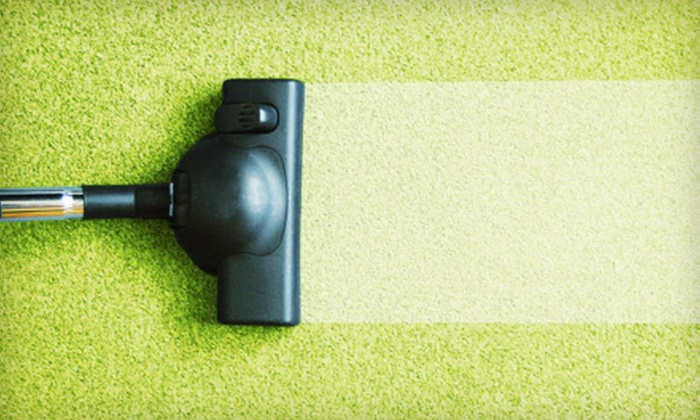 Sears Carpet Cleaning - Cleveland: $55 for Three Rooms of Carpet Cleaning from Sears Carpet Cleaning ($109.90 Value)