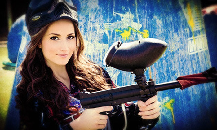 Paintball Tickets - Multiple Locations: $20 for a Paintball Outing with Equipment Rental for Four at Paintball Tickets (Up to $120 Value)