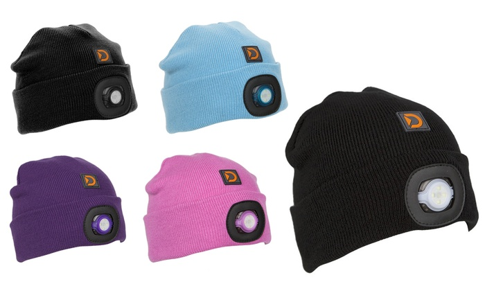 Up To 58% Off Discovery LED Torch Beanie  cc7657f868f0