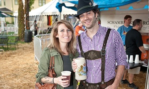 Naper Settlement: $35 for Two Adult Tickets and Beer at Naper Settlement's Oktoberfest on October 2 or 3 ($54 Value)