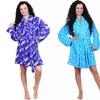 Ladies' Cozy Stars Plush Robes