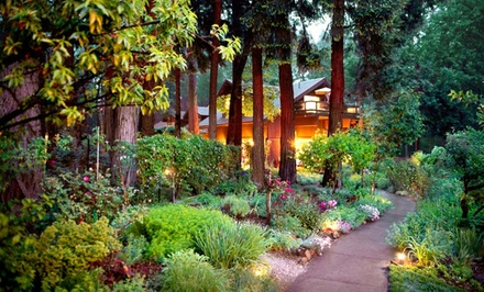 2- or 3-Night Stay for Two at Harmony Ridge Lodge in Nevada City, CA. Combine up to 12 Nights.