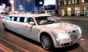 Black & White Limousines: Wieczór szaleństw: limuzyna, wejście do klubu dla nawet 10 osób i więcej za 279,99 zł wBlack & White Limousines