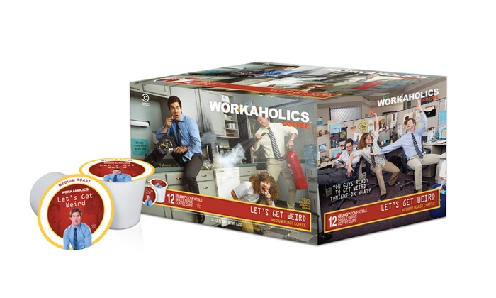 Workaholics Single-Serve Coffee 36-Pack: 36-Pack Workaholics Single-Serve Coffee. Multiple Flavors Available.
